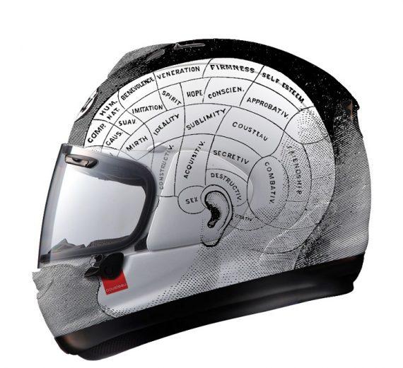 Custom Motorcycle Helmets - Art 1