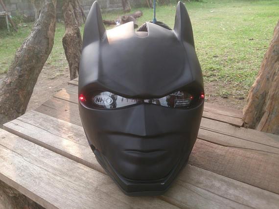 Custom Motorcycle Helmets - Batman 1