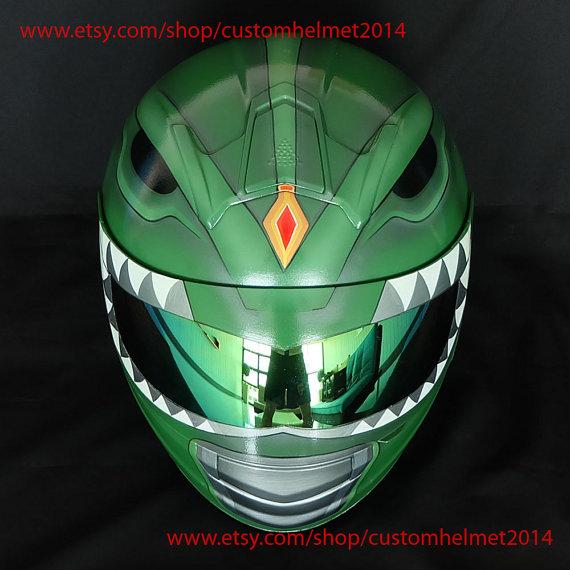 Custom Motorcycle Helmets - Power Rangers 1
