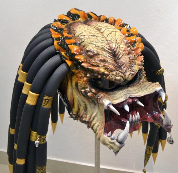 Custom Motorcycle Helmets - Predator