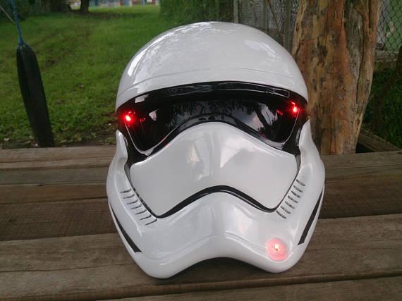 Custom Motorcycle Helmets - Star Wars Stormtrooper 1