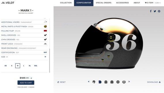 Custom Motorcycle Helmets - Veldt Designs 1
