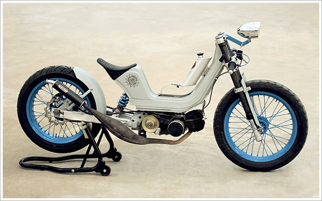 Custom Scooters 4 - Salt Racer by Vintage Addiction Crew