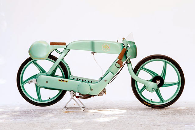 Custom Scooters 8 - The Piaggio Ciao Racer by OMT Garage