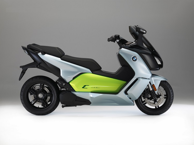 Street Legal Electric Scooter - BMW C-Evolution