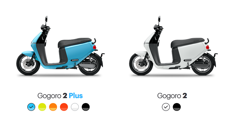 Street Legal Electric Scooter - Gogoro 2