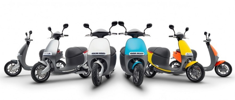 Street legal electric Scooter - Gogoro Line Up 2