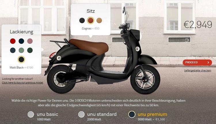 Street Legal Electric Scooter - Unu Premium