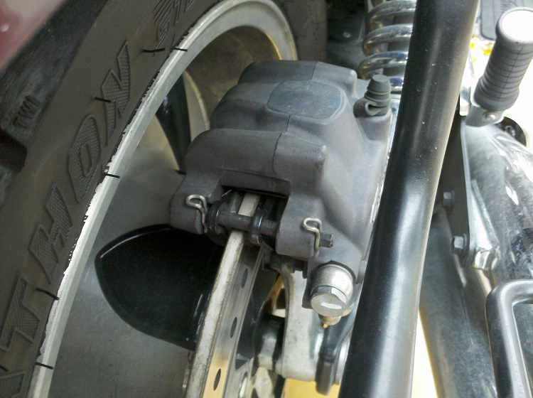 Home Motorcycle Repair - Brake Caliper