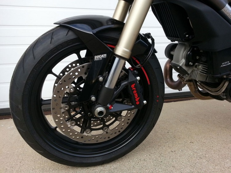 Home Motorcycle Repair - Brake Pads