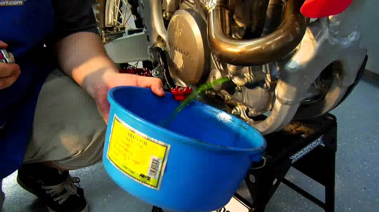 Home Motorcycle Repair - Coolant