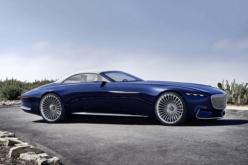 Biggest Cars In The World - Mercedes-Maybach Vision 6 Cabriolet