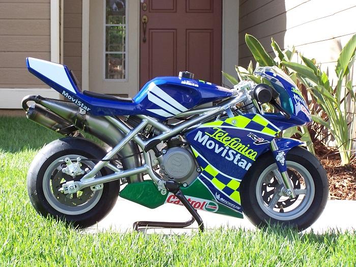 Mini Motorcycle - Blata Elite 1