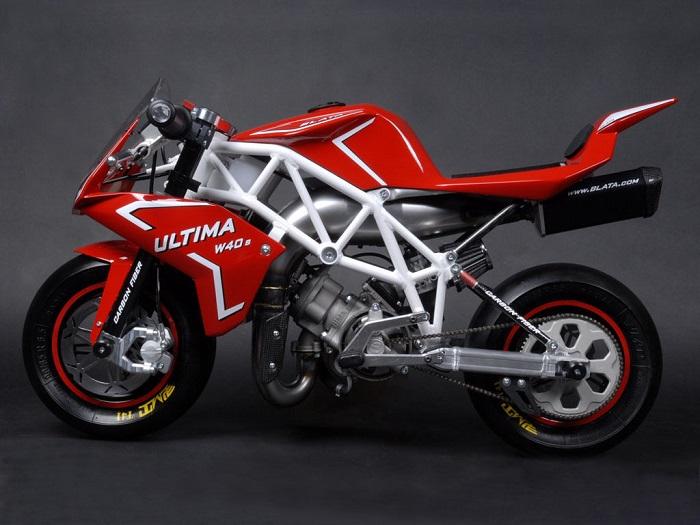 Mini Motorcycles - Blata Ultima W40 1