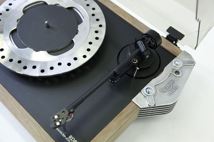 Upcycled Motorcycle Salvage - Turntable