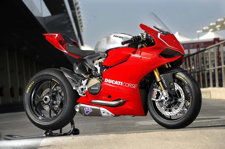 Power To Weight Ratio List - Ducati Panigale R