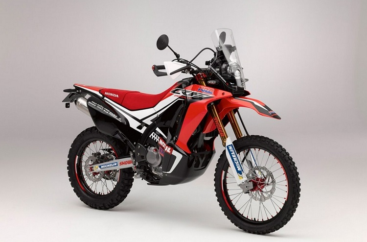 Small Motorcycles - Honda CRF250 Rally 2