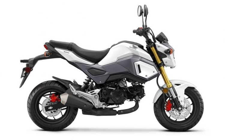 Small Motorcycles - Honda Grom 2