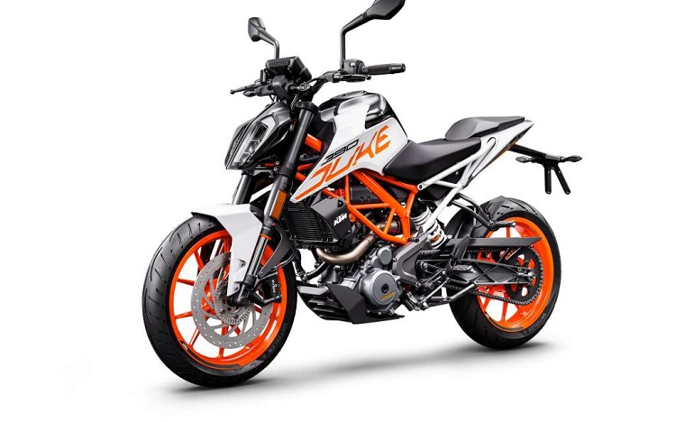 Small Motorcycles - KTM Duke 390