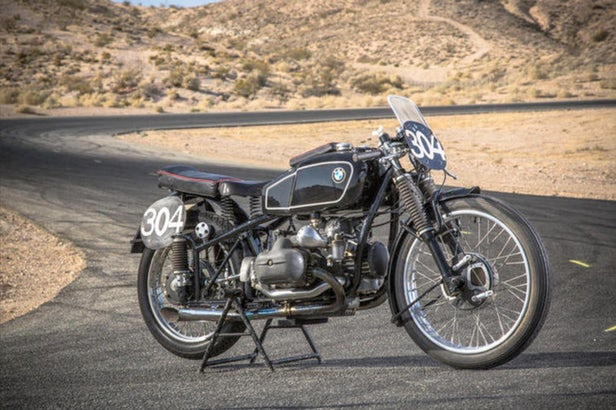 Vintage Motorcycles - BMW RS255 Kompressor