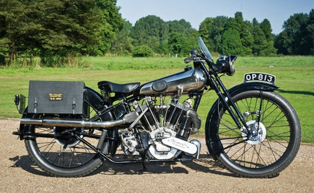 Vintage Motorcycles - Brough Superior SS100