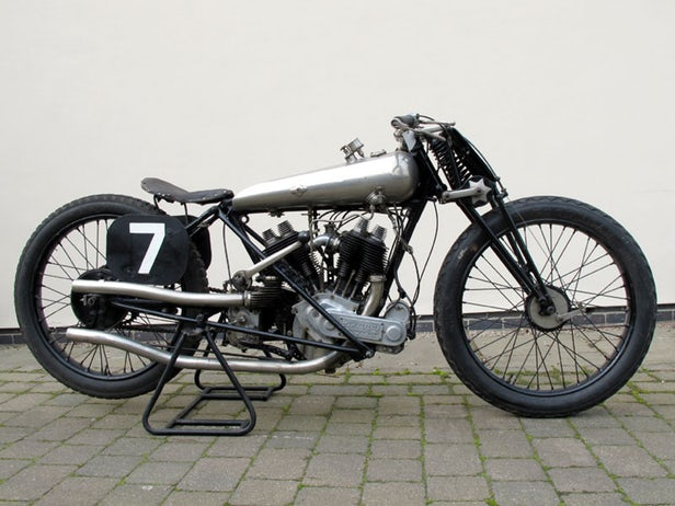 Vintage Motorcycles - Brough Superior SS80