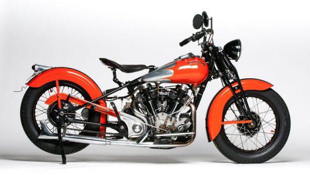 Vintage Motorcycles - Crocker V-Twin Big Tank