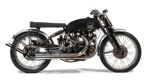 Vintage Motorcycles - Vincent Black Lightning 2
