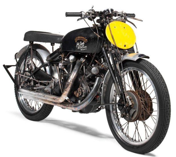 Vintage Motorcycles - Vincent Black Lightning