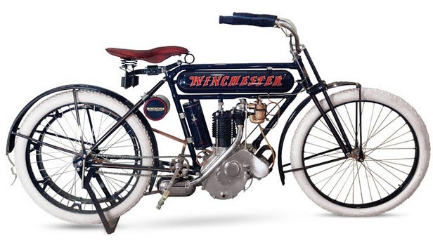 Vintage Motorcycles - Winchester 6HP