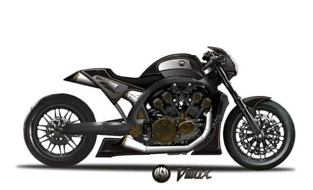 Yamaha VMAX - Sketch