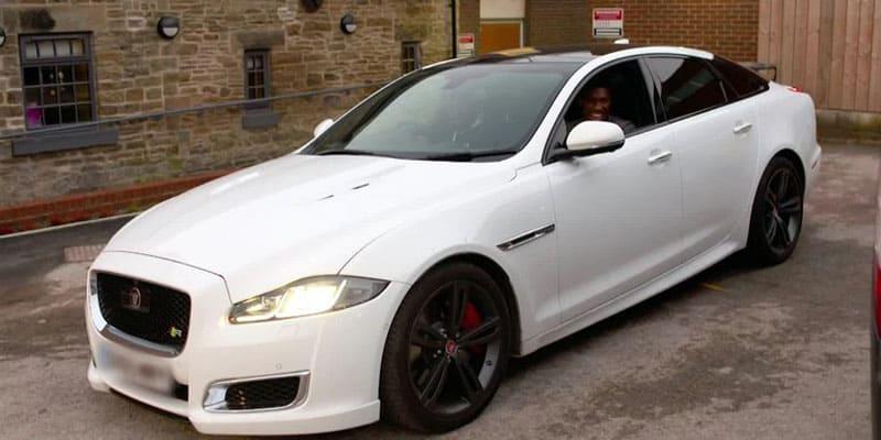 Anthony Joshua Jaguar XJR