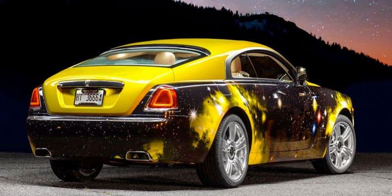 Antonio Brown Rolls Royce Wraith