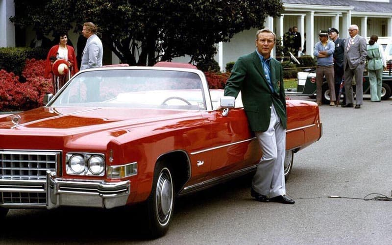 Arnold Palmer Cadillac Convertible