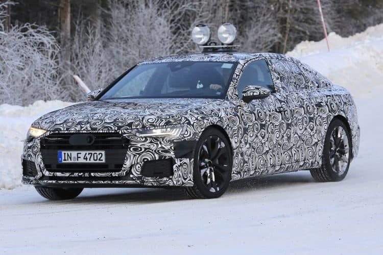 Best Mid-Size Sedan 2019 - 2019 Audi A6 test mule