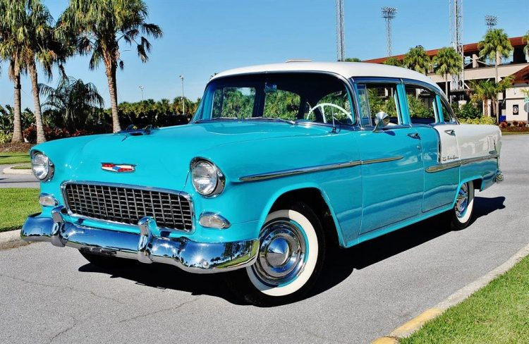 Chevy Bel Air Front 3/4
