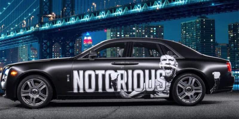 Conor McGregor Rolls Royce Ghost
