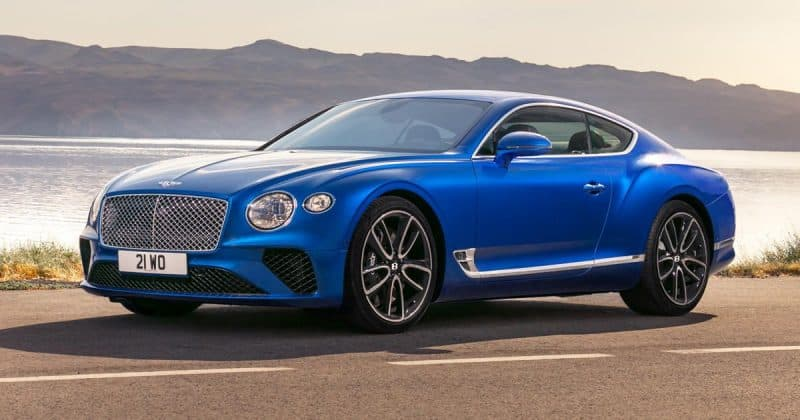 New Model Luxury Cars 2019 - 2019 Bentley Continental GT side view