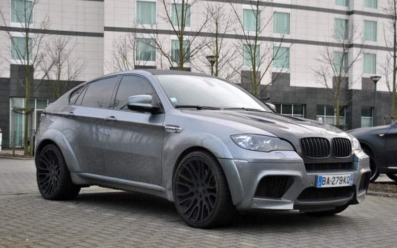 Eden Hazard BMW X6M