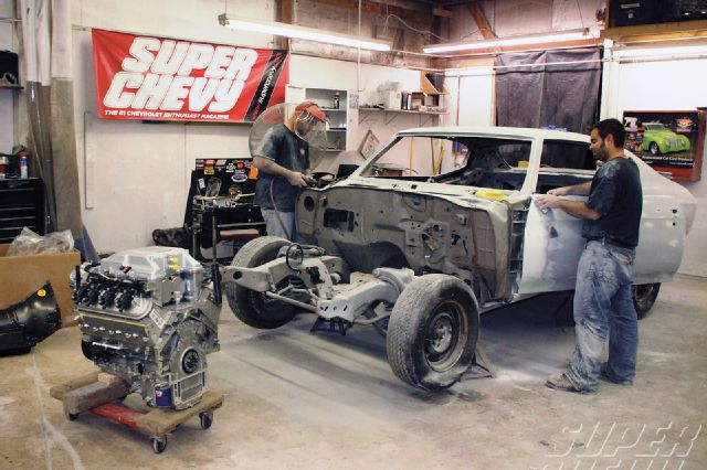 GM Crate Motors - Engine out