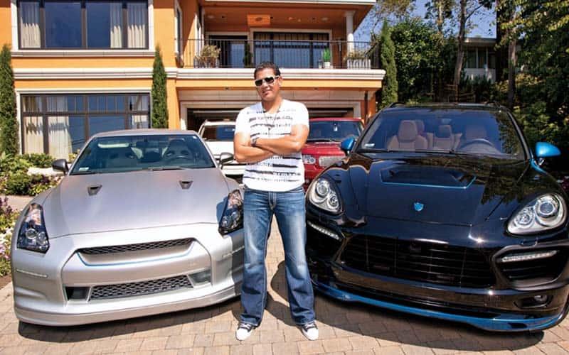 Felix Hernandez Nissan GT-R and Porsche Cayenne