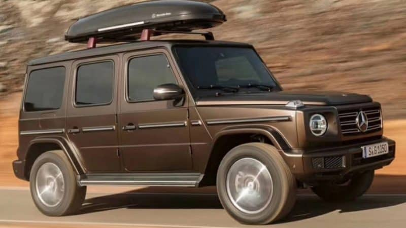 New Model Luxury Cars 2019 - 2019 Mercedes-Benz G Class side view