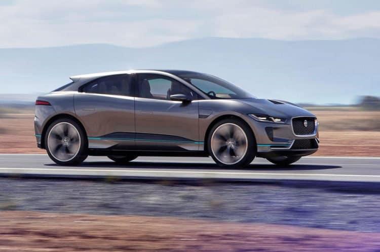 Future Hybrid Cars 2019 Jaguar I Pace Side View