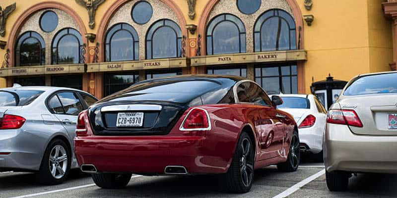 James Harden Rolls Royce Wraith