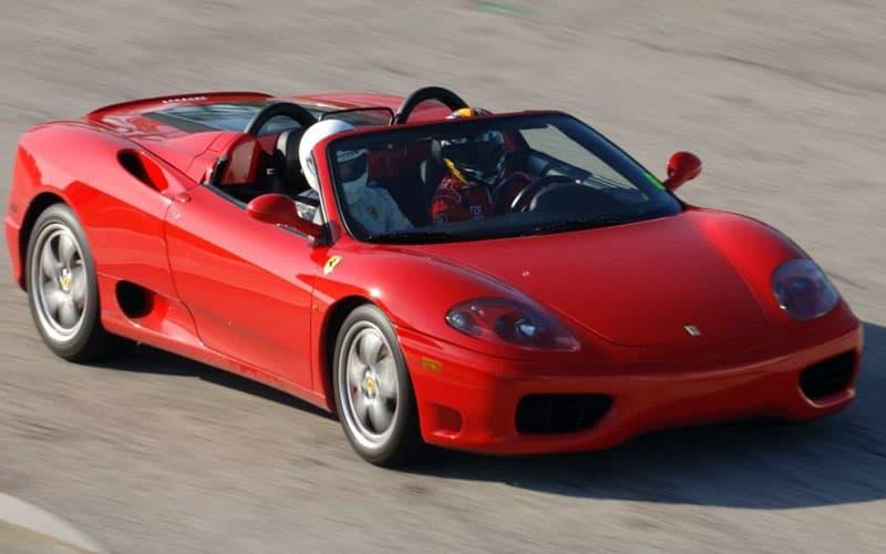 Lleyton Hewitt Ferrari 360 Spider
