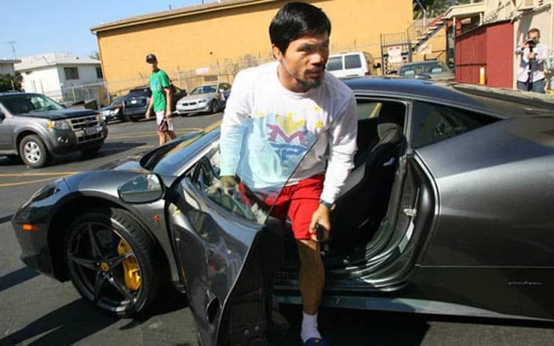 Manny Pacquiao Ferrari 458 Italia