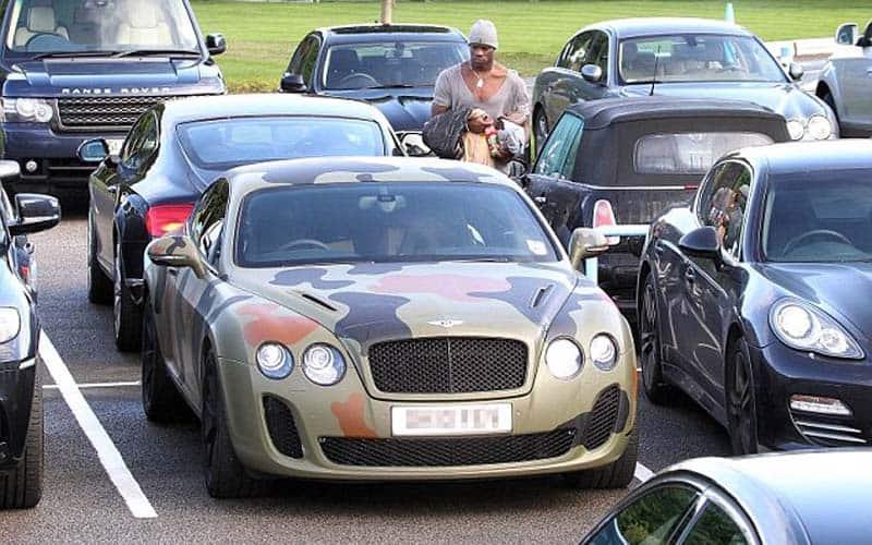 Mario Baloteli Bentley Continental GT