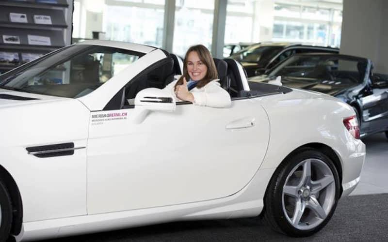 Martina Hingis Mercedes-Benz SLK