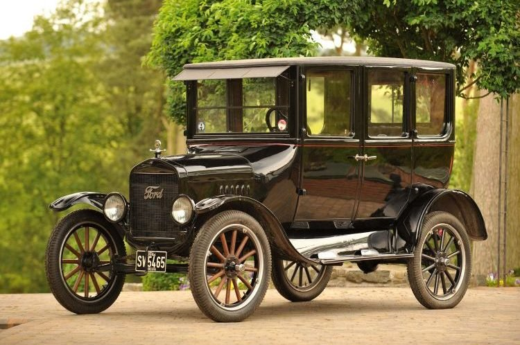 Ford Model T Front 3/4