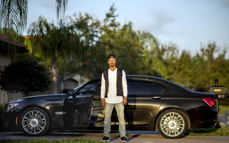 Mookie Betts BMW 7 Series